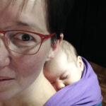 babywearing in caso di cesareo