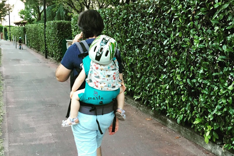 babywearing e sicurezza